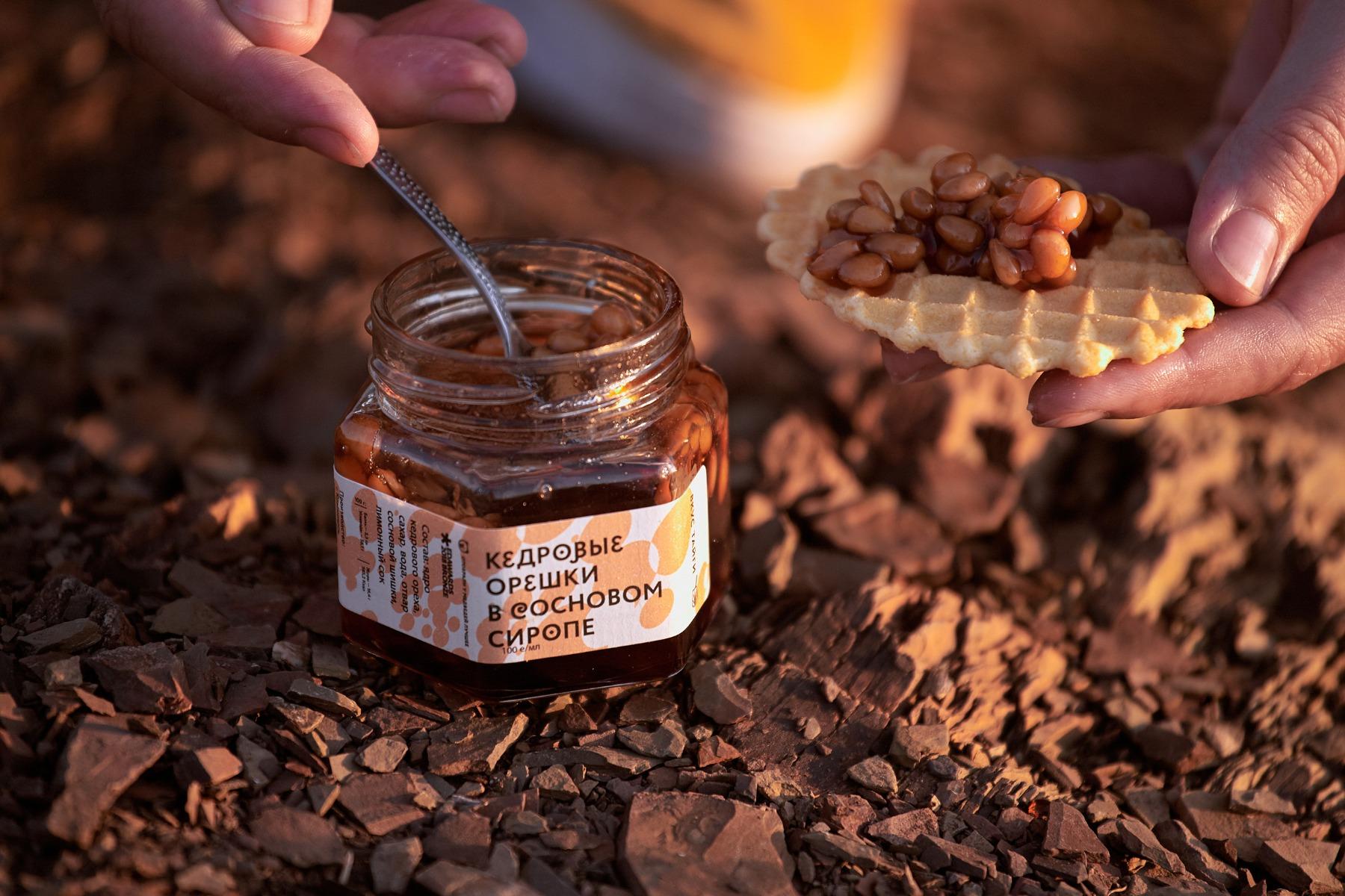кедровые орешки в сиропе